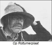 Godfried Bomans op Rottumerplaat